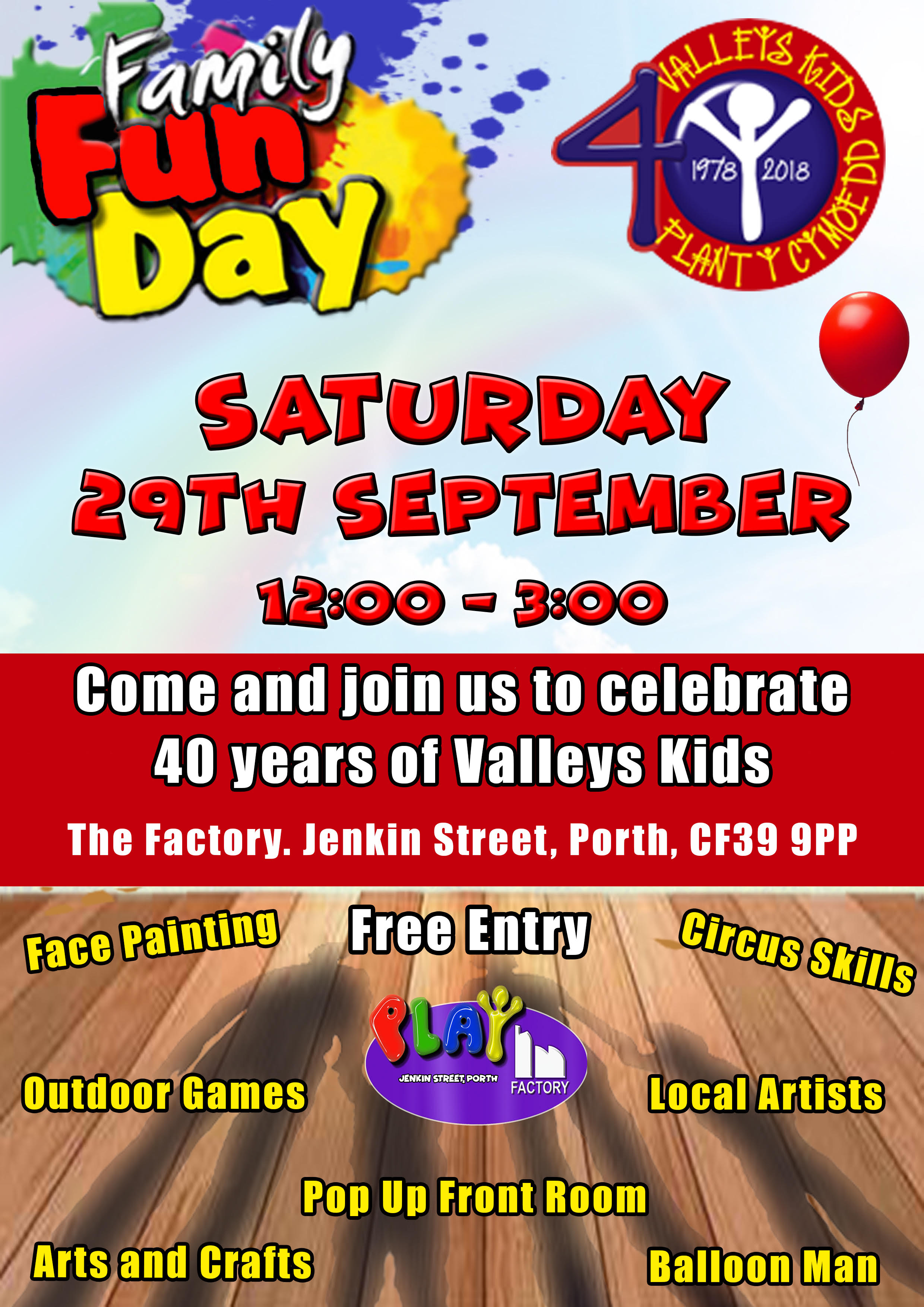 Valleys Kids 40th Birthday